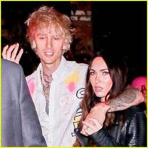 Machine Gun Kelly & Megan Fox Get Cozy on a Date Night in Hollywood