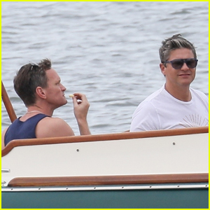 Neil Patrick Harris & David Burtka Spend the Day at Sea with Friends