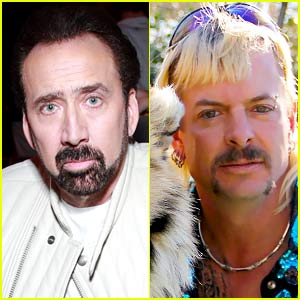 Nicolas Cage's Joe Exotic Series Goes to Amazon, Carole Baskin Reacts!