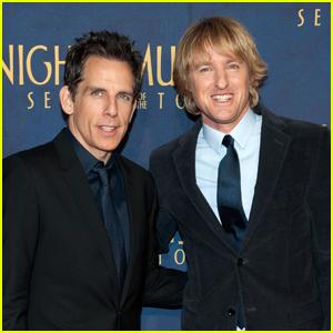 Ben Stiller & Owen Wilson to Join 'Night at the Museum' Reunion!