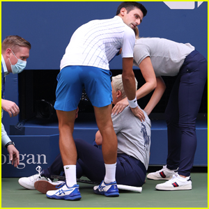 Novak Djokovic Disqualified From U.S. Open After Accidentally Hitting Line Judge in Throat With Tennis Ball