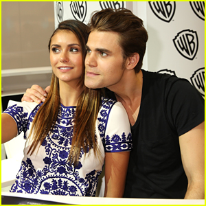 Nina Dobrev Reunites With Paul Wesley For Puppy Play Date