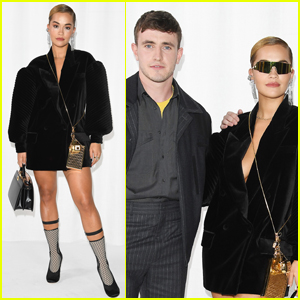 Rita Ora Hangs Out with Paul Mescal at Fendi Fashion Show in Milan