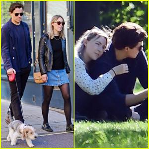Saoirse Ronan & Boyfriend Jack Lowden Enjoy Rare Date in London!