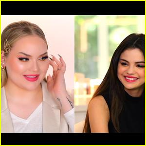 Selena Gomez Does Her Makeup With NikkieTutorials - Watch! (Video)