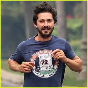 Shia LaBeouf Starts Off His Day With Morning Jog