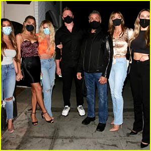 Sylvester Stallone's Family Went Out for Dinner with Reality Star Kim Zolciak's Family!