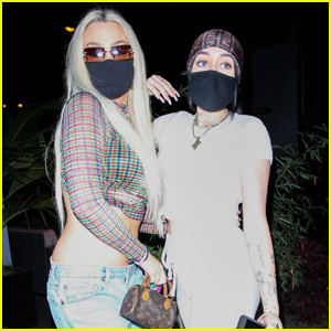 Tana Mongeau & Noah Cyrus Hold Hands While Getting Dinner in West Hollywood