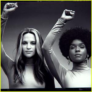 Alicia Vikander & Janelle Monae Lead Star-Studded 'The Glorias' Trailer - Watch Now!