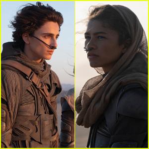 Timothee Chalamet, Zendaya, & More Star in First 'Dune' Trailer - Watch!