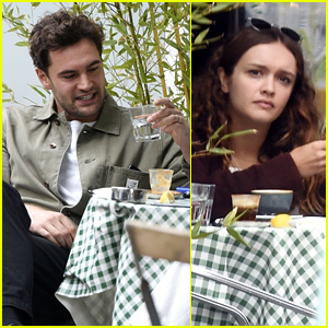 Tom Bateman Wears Wedding Band During Run In With Co-Star Olivia Cooke