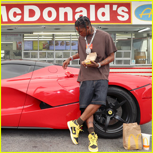 Travis Scott Fined After Hundreds of Fans Gather at McDonald's Without Approval
