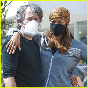 Tyra Banks & Louis Bélanger-Martin Step Out For Casual Lunch Together After Her 'DWTS' Debut