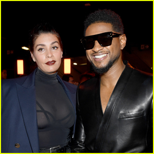 Usher & Girlfriend Jenn Goiceochea Welcome Baby Girl - Find Out Her Name!