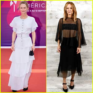 Vanessa Paradis Wears Chanel for Two Deauville Events in France