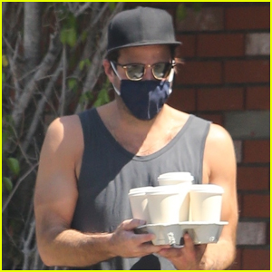 Zachary Quinto Bares His Arms During L.A. Heatwave