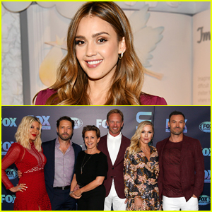 '90210' Cast Reacts To Jessica Alba's Claims There Was a No Eye Contact Rule on Set