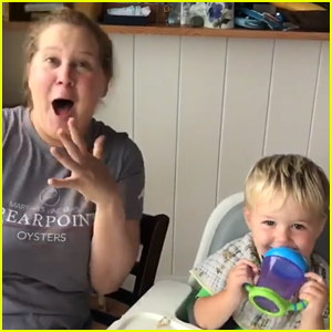 Amy Schumer's Son Gene Shocks Her By Saying 'Dad' for First Time in Really Sweet Video
