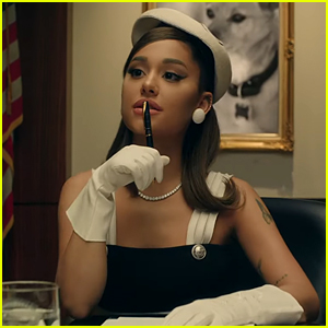 Ariana Grande Is the President in Her 'Positions' Music Video - Watch Now!