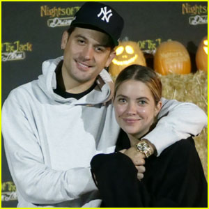 Ashley Benson & G-Eazy Visit Nights of the Jack Halloween Experience!