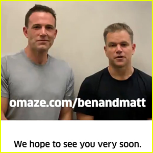 Ben Affleck Debuts Clean Shaven Face in Omaze Video with BFF Matt Damon!