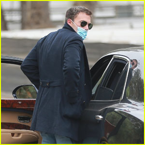 Ben Affleck Heads to a Movie Set in LA