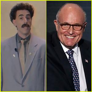 Sacha Baron Cohen Makes Video as Borat to 'Defend' Rudy Giuliani After Scene in 'Borat 2'
