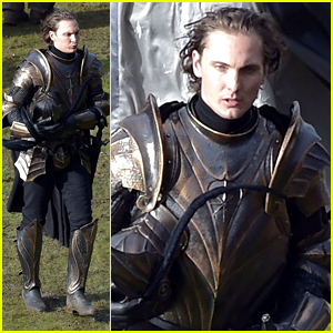 New 'Witcher' Set Photos Reveal Eamon Farren's Cahir Armor Changes For Season Two