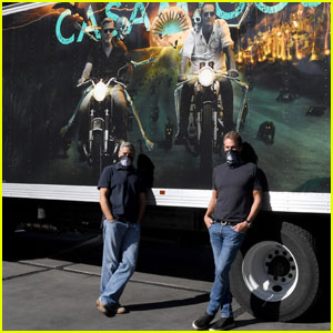 George Clooney & Rande Gerber Bring the Halloween Spirit Home With the Casamigos Truck