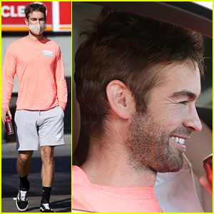 Chace Crawford Flashes His Smile During a Quick Errand Run