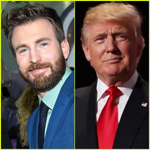 Chris Evans Slams Donald Trump's Tweet Telling Americans 'Don't Be Afraid of Covid'