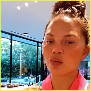 Chrissy Teigen Returns To Instagram Stories To Share A Cooking Video With Daughter Luna