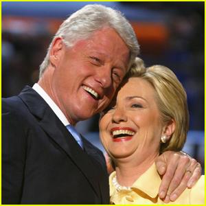 Bill & Hillary Clinton Celebrate Their 45th Wedding Anniversary