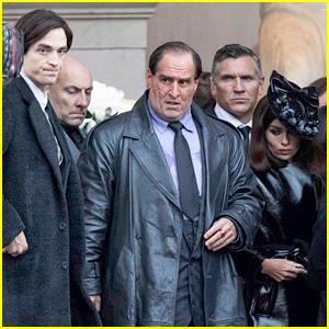 Colin Farrell Looks Unrecognizable as the Penguin on 'Batman' Set with Robert Pattinson & Zoe Kravitz