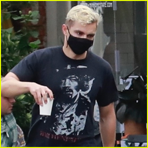 Dave Franco Debuts Bleached Blonde Hair While Out in Los Feliz!