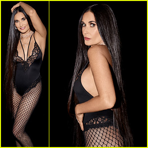 Demi Moore Strips Down to Lingerie at 57 for Rihanna's Savage x Fenty Show!
