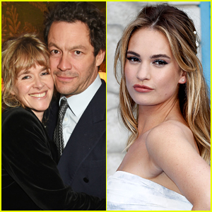 Dominic West's Wife Catherine FitzGerald 'Shocked' By Lily James PDA Photos, Her Friend Reveals