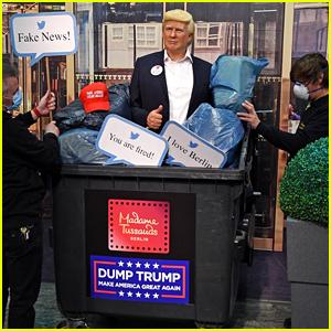 Madame Tussauds Throws Donald Trump Wax Figure In Garbage: 'Dump Trump'