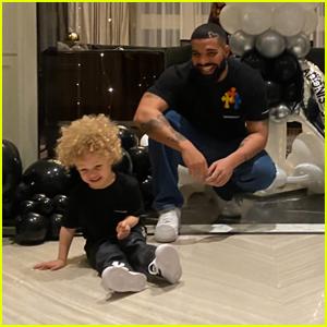 Drake & Sophie Brussaux Celebrate Son Adonis' 3rd Birthday!