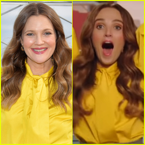 Drew Barrymore Reacts to Chloe Fineman's Impersonation of Her on 'SNL'