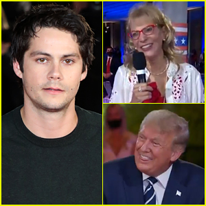 Dylan O'Brien Has Perfect Response to Weirdest Moment of Trump's Town Hall (Video)