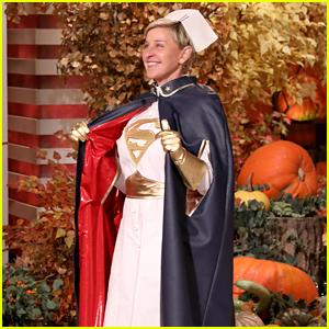 Ellen DeGeneres Dresses as a Real Superhero, a Nurse, for Halloween