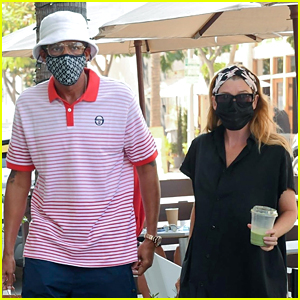Ellen Pompeo & Chris Ivery Make Rare Outing Together To Pick Up Lunch To Go