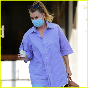 Ellen Pompeo Treats Herself to Ice Cream Amid Warm L.A. Weather