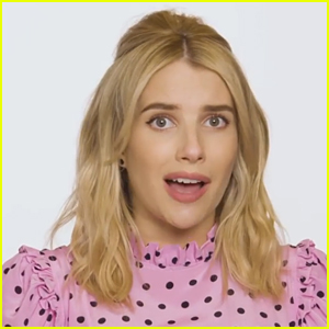 Emma Roberts Is Basically 'Scream Queens' Chanel Again In Her New Halloween PSA