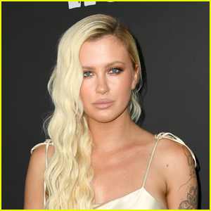 Ireland Baldwin Poses Topless With 'I Voted' Stickers