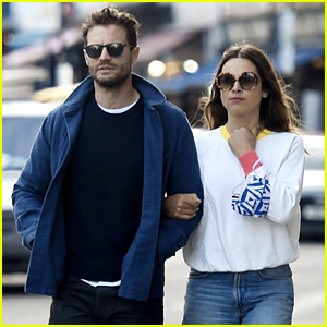 Jamie Dornan & Wife Amelia Warner Enjoy Day Date in London