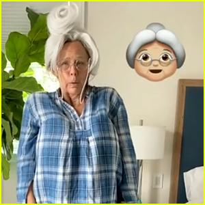 Jennifer Garner Dresses Up as the Grandma Emoji for Halloween 2020!