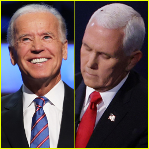 Joe Biden Pokes Fun at Mike Pence After Fly Lands on His Head During Debate!