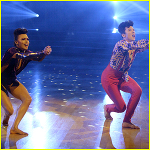 Johnny Weir Earns Highest Score of the Season So Far on 'DWTS' '80s Night - Watch Now!